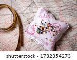 Pincushion And Tailor's Ruler...