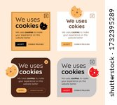 cookie consent popup design...
