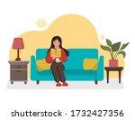 vector illustration. girl...   Shutterstock .eps vector #1732427356