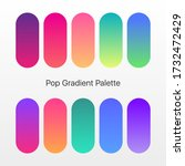 trendy gradient color template. ...
