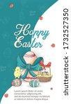 easter holiday banner...   Shutterstock .eps vector #1732527350