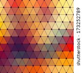 vector geometric background | Shutterstock .eps vector #173252789