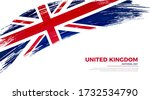 flag of united kingdom country. ... | Shutterstock .eps vector #1732534790