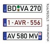 france  german and belgium... | Shutterstock .eps vector #1732567976