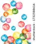 Watercolor Background. Colorful ...