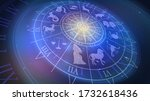 Wheel Chart With Zodiac Signs...