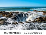 Thor's Well With Water...