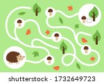 educational maze game for... | Shutterstock .eps vector #1732649723