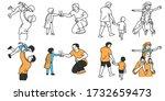 vector illustration character... | Shutterstock .eps vector #1732659473