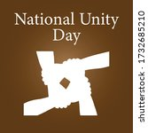 national unity day.hungary... | Shutterstock .eps vector #1732685210