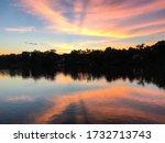Beautiful  Colourful Sunset At...