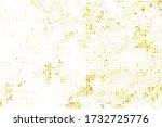 Yellow Halftone Pop. Gold Dots...