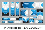 set of creative web banners of... | Shutterstock .eps vector #1732800299