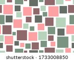 Squares Scatter. Seamless...