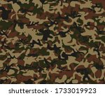 Abstract Army Brush. Green Camo ...