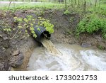 Storm Water Overflow After The...