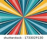 comic retro sunburst background....   Shutterstock .eps vector #1733029130