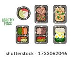 vector illustration with a... | Shutterstock .eps vector #1733062046