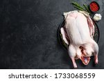 Raw Whole Duck  Pink Pepper An...