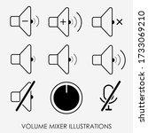 modern set of sound controller...