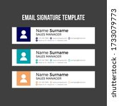 modern email signature template ...