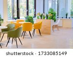interior tables and chairs... | Shutterstock . vector #1733085149