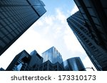 tall glass buildings | Shutterstock . vector #173310173