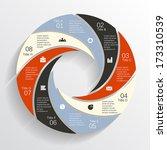 modern vector info graphic for...   Shutterstock .eps vector #173310539