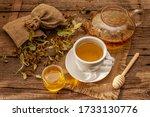Linden Tea. Dry Fragrant...