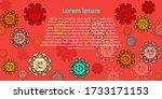 corona virus cartoon childrens...   Shutterstock .eps vector #1733171153