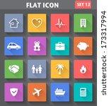 vector application insurance...   Shutterstock .eps vector #173317994
