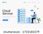 cloud computing services vector ...