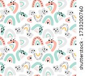 Cute Hand Drawn Pattern For...