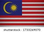 abstract flag of malaysia made... | Shutterstock .eps vector #1733269070