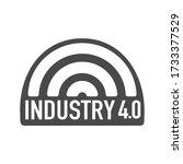industry 4.0  iot  smart... | Shutterstock .eps vector #1733377529