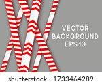 signal tape industrial border...   Shutterstock .eps vector #1733464289