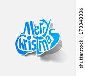 merry christmas   Shutterstock . vector #173348336