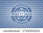 Wretched Blue Emblem With...