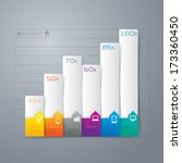 abstract 3d digital... | Shutterstock .eps vector #173360450