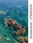 cap de peyrefite  languedoc... | Shutterstock . vector #173365154