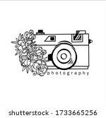 photography logos  wedding... | Shutterstock .eps vector #1733665256