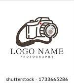 photography logos  photography...   Shutterstock .eps vector #1733665286