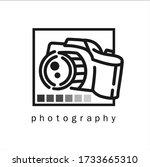 photography logos  photography...   Shutterstock .eps vector #1733665310