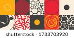 geometric distress aesthetics... | Shutterstock .eps vector #1733703920