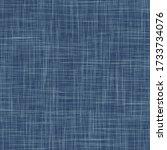 seamless indigo blue woven...   Shutterstock .eps vector #1733734076