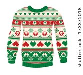 Illustration Of Warm Sweater...