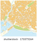 palma city map | Shutterstock .eps vector #173375264