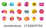 sale banner tags. discount... | Shutterstock .eps vector #1733839703