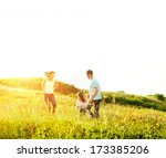 enjoying the life together | Shutterstock . vector #173385206