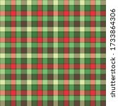 plaid seamless pattern  ... | Shutterstock . vector #1733864306